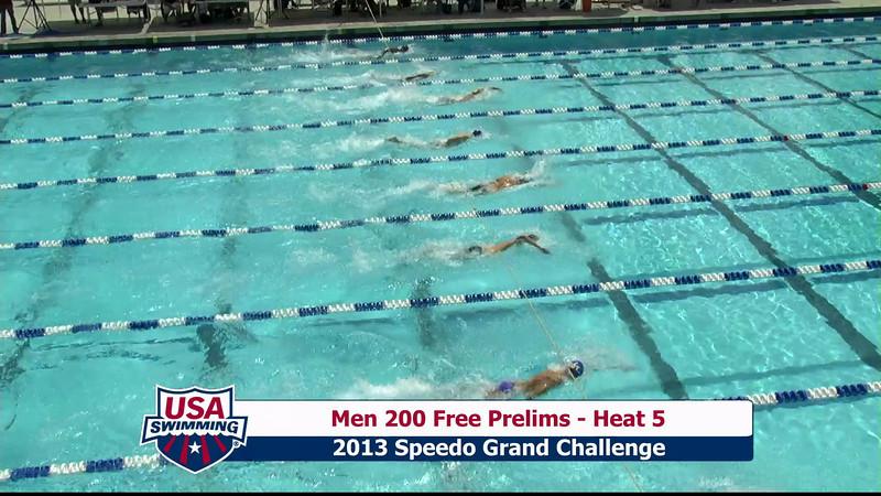 #2 Men 200 Free Heat 8