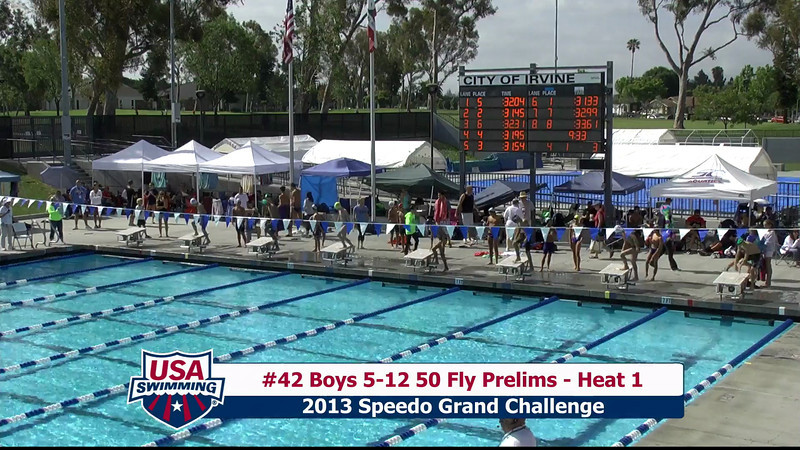 #42 Boys 5-12 50 Fly Heat 1