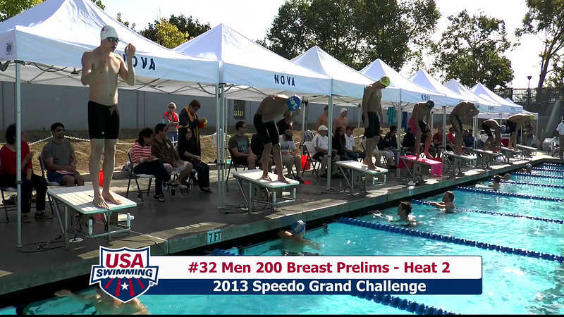 #32 Men 200 Breast Heat 2