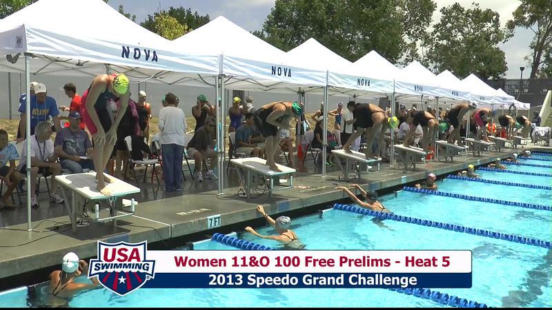 #43 Women 100 Free Heat 8