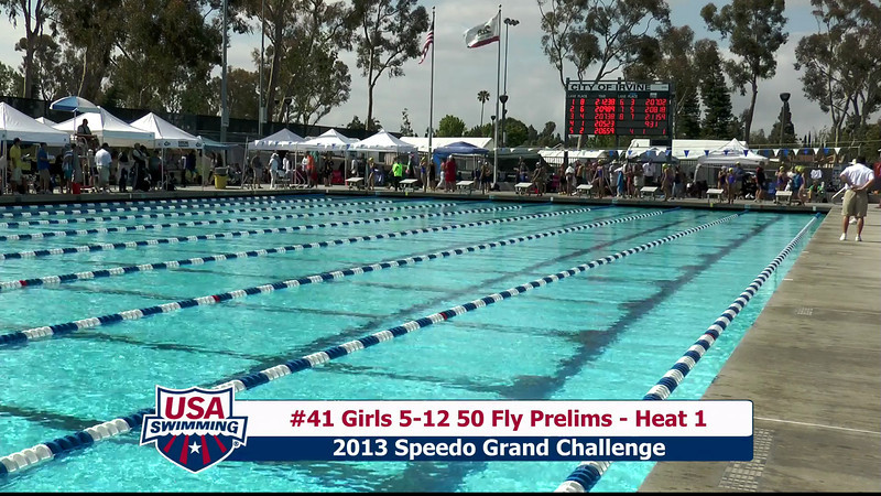 #41 Girls 5-12 50 Fly Heat 1