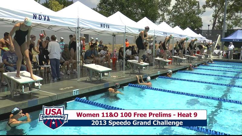#43 Women 100 Free Heat 12