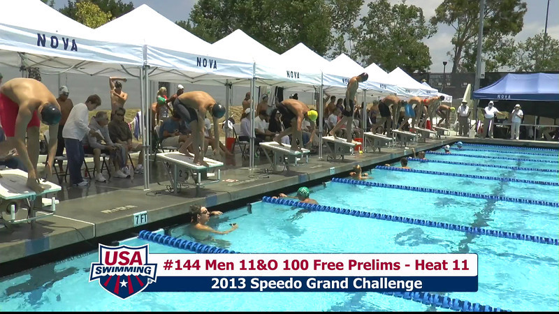 #44 Men 100 Free Heat 13