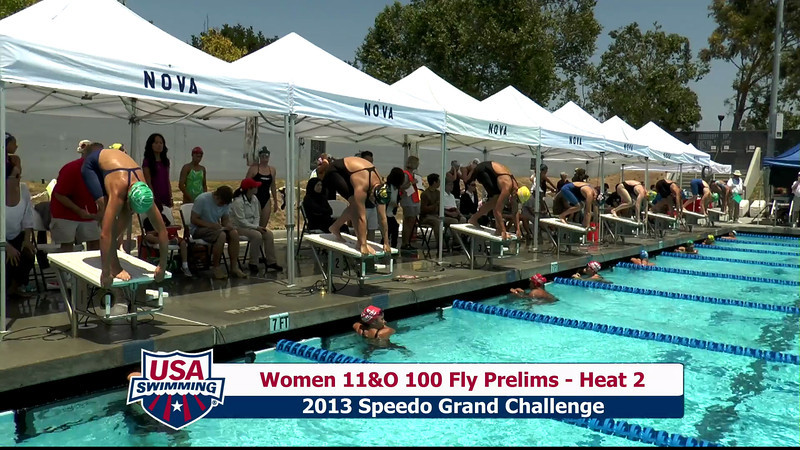 #24 Women 100 Fly Heat 7