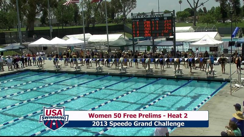 #9 Women 50 Free Heat 5