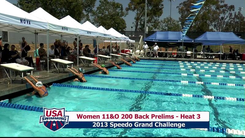 #28 Women 200 Back Heat 7