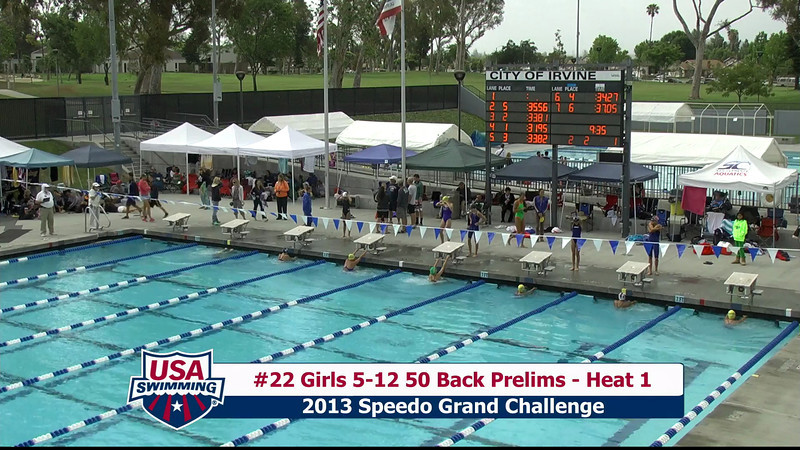 #22 Girls 5-12 50 Back Heat 1