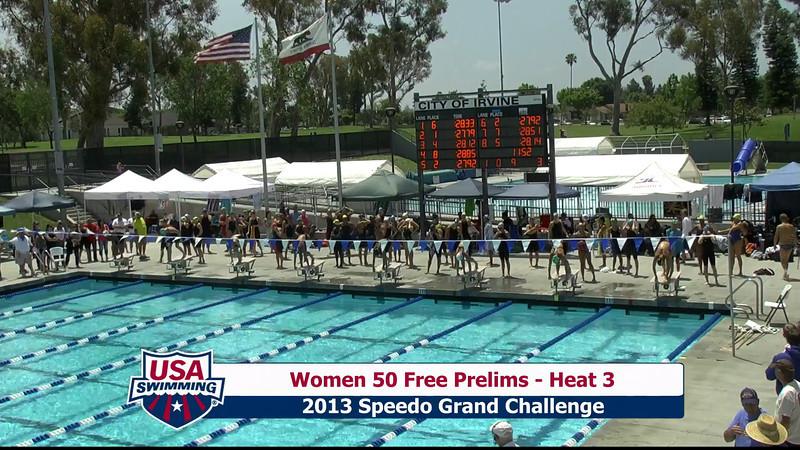 #9 Women 50 Free Heat 6