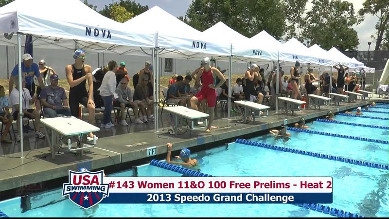 #43 Women 100 Free Heat 5