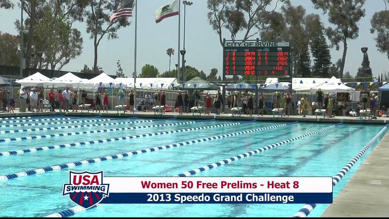 #9 Women 50 Free Heat 11