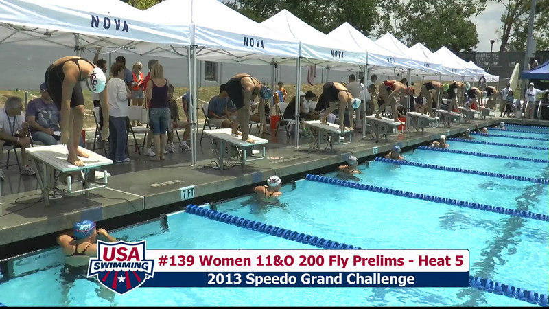 #39 Women 200 Fly Heat 8