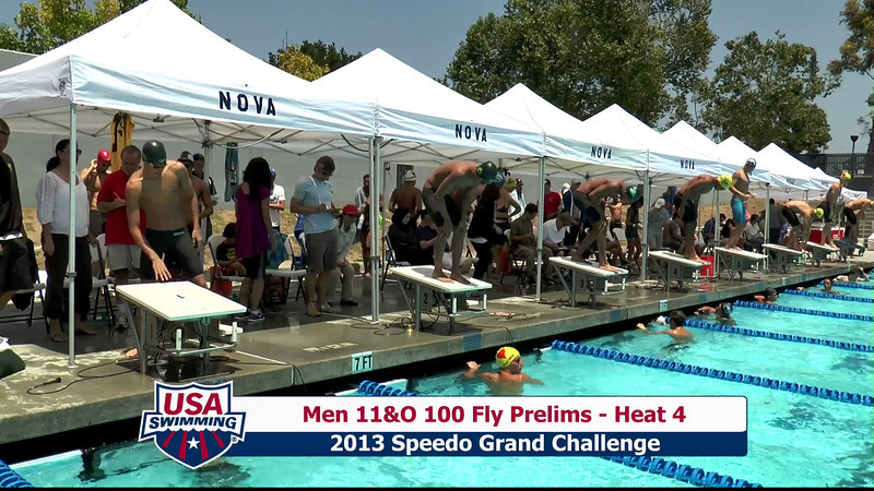 #23 Men 100 Fly Heat 6