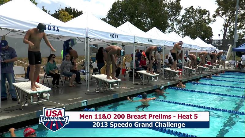 #32 Men 200 Breast Heat 8