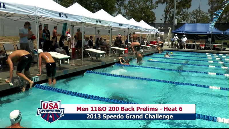 #27 Men 200 Back Heat 10
