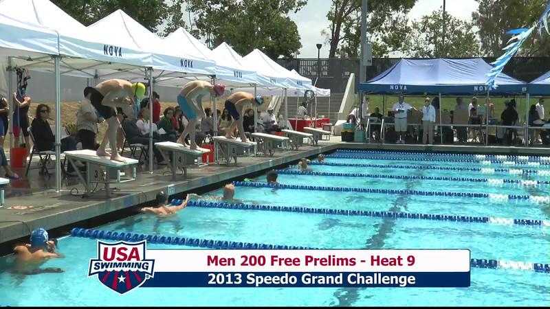 #2 Men 200 Free Heat 12