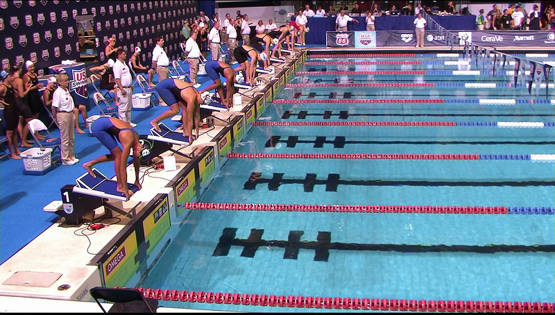Women's 100 Breaststroke Heat 3 - 2013 Phillips 66 National Championships and World Championship Trials