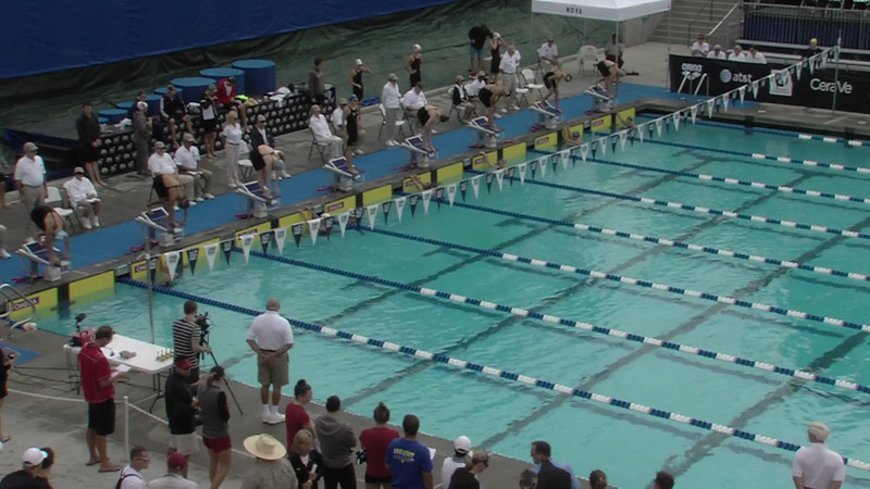 #1 Women 200 Fly Heat 6