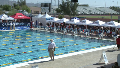 Women's 100 Freestyle Heat 8 - Arena Grand Prix -  Mesa, Arizona