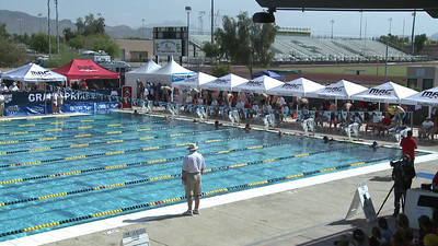 Men's 100 Freestyle Heat 4 - Arena Grand Prix -  Mesa, Arizona
