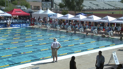 Men's 100 Freestyle Heat 7 - Arena Grand Prix -  Mesa, Arizona