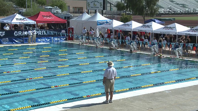 Women's 100 Freestyle Heat 5 - Arena Grand Prix -  Mesa, Arizona