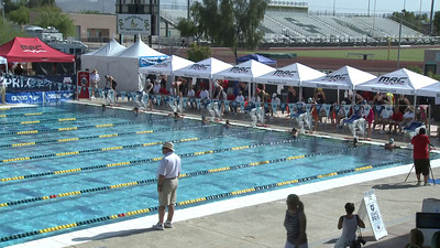 Women's 100 Freestyle Heat 10 - Arena Grand Prix -  Mesa, Arizona