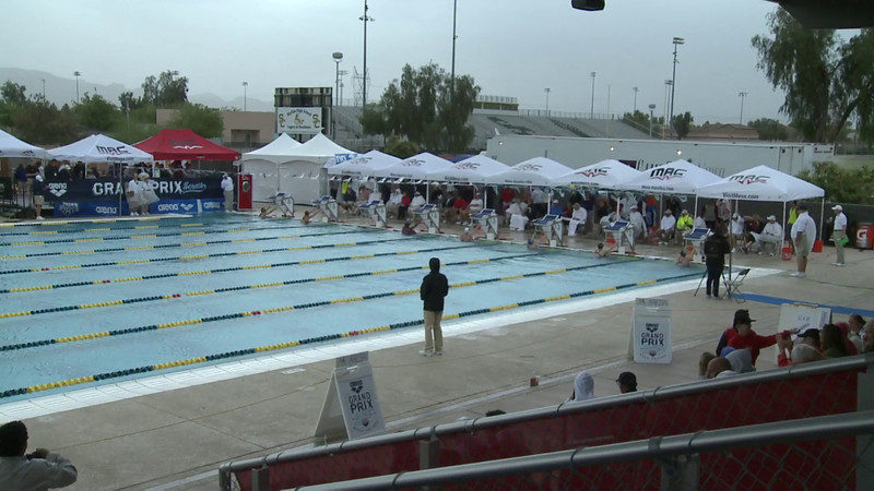 Women's 100 Backstroke Heat 4 - Arena Grand Prix -  Mesa, Arizona