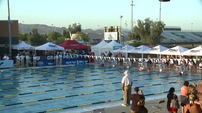 Men's 100 Freestyle D Final - Arena Grand Prix -  Mesa, Arizona