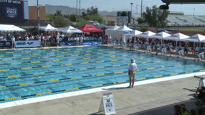 Women's 100 Freestyle Heat 13 - Arena Grand Prix -  Mesa, Arizona