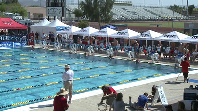 Men's 100 Freestyle Heat 11 - Arena Grand Prix -  Mesa, Arizona