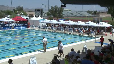 Women's 100 Freestyle Swimoff - Arena Grand Prix -  Mesa, Arizona