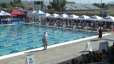 Women's 100 Freestyle Heat 3 - Arena Grand Prix -  Mesa, Arizona