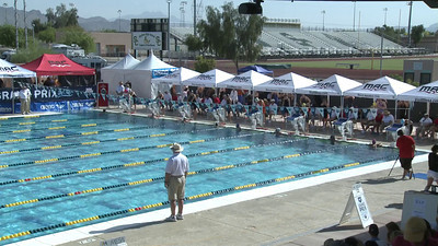 Women's 100 Freestyle Heat 4 - Arena Grand Prix -  Mesa, Arizona