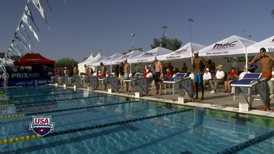 Men's 100 Freestyle B Final - Arena Grand Prix -  Mesa, Arizona