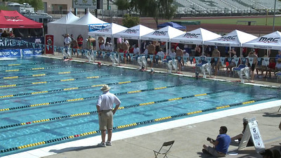 Men's 100 Freestyle Heat 15 - Arena Grand Prix -  Mesa, Arizona