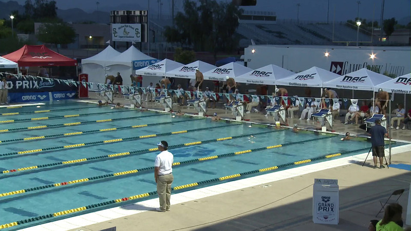 Men's 200 Freestyle C Final  - Arena Grand Prix -  Mesa, Arizona