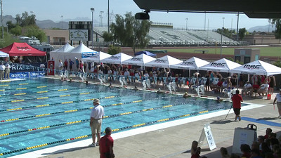 Women's 100 Freestyle Heat 6 - Arena Grand Prix -  Mesa, Arizona