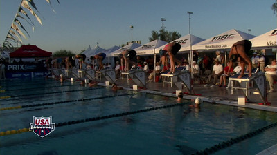 Women's 100 Freestyle D Final - Arena Grand Prix -  Mesa, Arizona