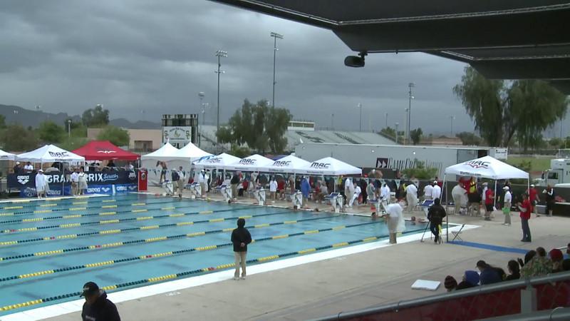 Men's 200 Individual Medley Heat 8 - Arena Grand Prix -  Mesa, Arizona