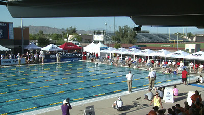 Women's 200 Breaststroke A Final - Arena Grand Prix -  Mesa, Arizona
