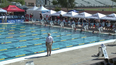 Women's 100 Freestyle Heat 11 - Arena Grand Prix -  Mesa, Arizona