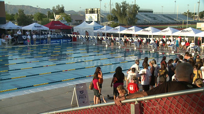 Women's 100 Freestyle C Final - Arena Grand Prix -  Mesa, Arizona
