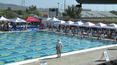 Women's 100 Freestyle Heat 7 - Arena Grand Prix -  Mesa, Arizona