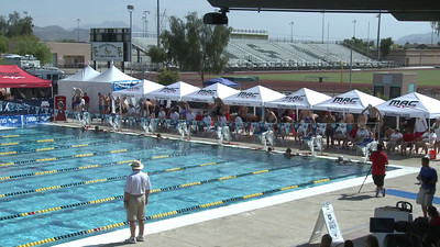 Men's 100 Freestyle Heat 9 - Arena Grand Prix -  Mesa, Arizona
