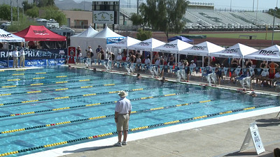 Women's 100 Freestyle Heat 9 - Arena Grand Prix -  Mesa, Arizona
