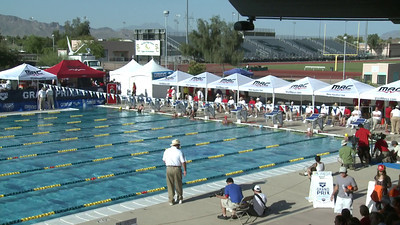 Women's 100 Freestyle A Final - Arena Grand Prix -  Mesa, Arizona