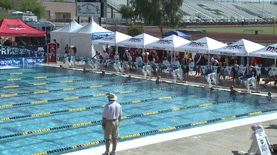 Women's 100 Freestyle Heat 12 - Arena Grand Prix -  Mesa, Arizona
