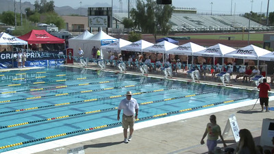 Men's 100 Freestyle Heat 1 - Arena Grand Prix -  Mesa, Arizona