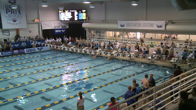 Men's 50 Backstroke Swim Off