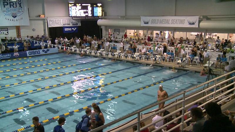 Women's 50 Backstroke Heat 8